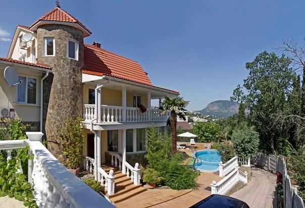крым отели у моря с бассейном